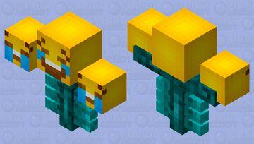 .:March Secret Santa:. GappleWarrior's Emoji Wither Remade Minecraft Mob Skin