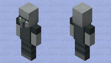 Unibrow Illager Minecraft Mob Skin
