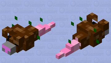 You've Ratted Your Last Touttuie! Minecraft Mob Skin