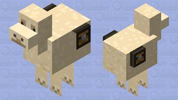 smol llama Minecraft Mob Skin