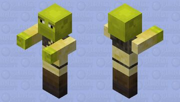 Shrek Zombie Minecraft Mob Skin