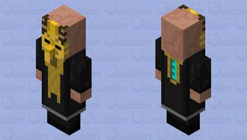 Unitologist Priest (Dead Space) Minecraft Mob Skin