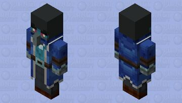 The Iceologer (Final Version) Minecraft Mob Skin