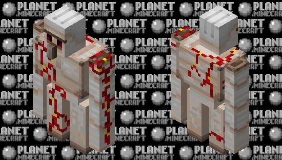 Crimson wine golem Minecraft Skin