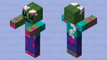 yandere zombie UwU Minecraft Mob Skin