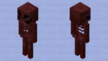 Mad Skeleton (𝕱𝖔𝖗𝖇𝖎𝖉𝖉𝖊𝖓 𝕾𝖔𝖚𝖑𝖘) Minecraft Mob Skin
