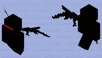 спецназ предателей Minecraft Mob Skin