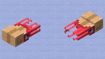 Ammonite Minecraft Mob Skin