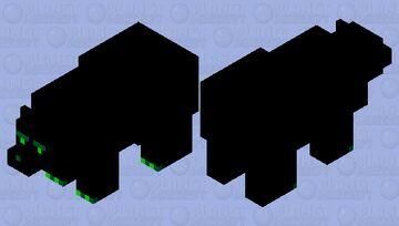 Evil Soul (Polar Bear) Minecraft Mob Skin