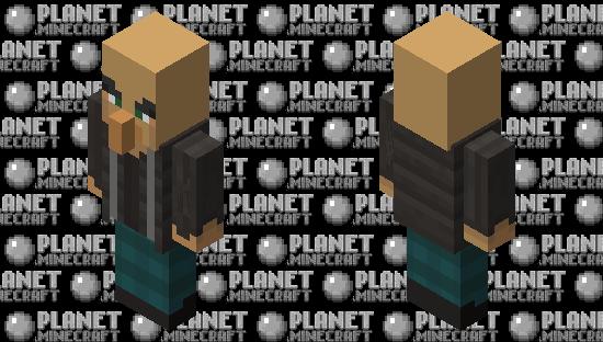 Skinned Vindicator Minecraft Skin