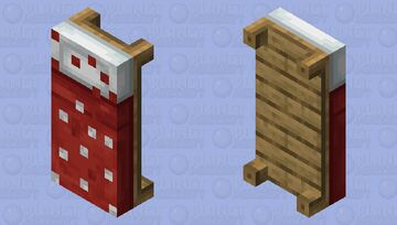 dotted bed Minecraft Mob Skin