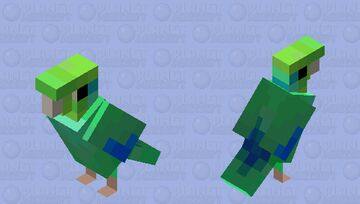 Pacific Parrotlet Minecraft Mob Skin