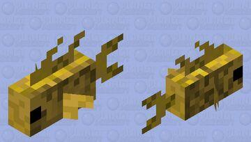 Gold fish Minecraft Mob Skin