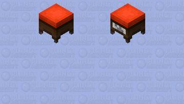Chair ( Decorate ) Minecraft Mob Skin