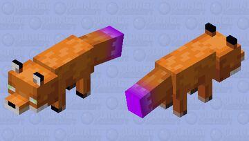 Magic Fox Minecraft Mob Skin
