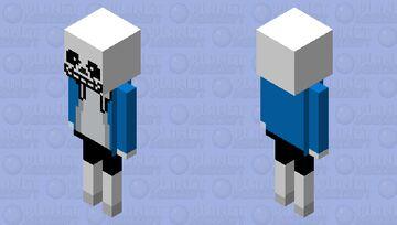 SANs (FROM UNDERMAN) Minecraft Mob Skin
