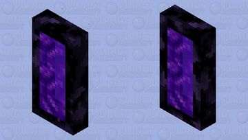 Portal To Nether Bed Minecraft Mob Skin