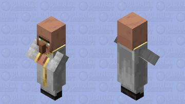 Healer Villager(For New Illagers And Villagers) Minecraft Mob Skin