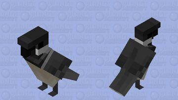 Black Capped Chickadee Minecraft Mob Skin