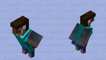 Fluttering Steve Minecraft Mob Skin