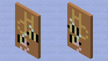 offical HC Cape Minecraft Mob Skin