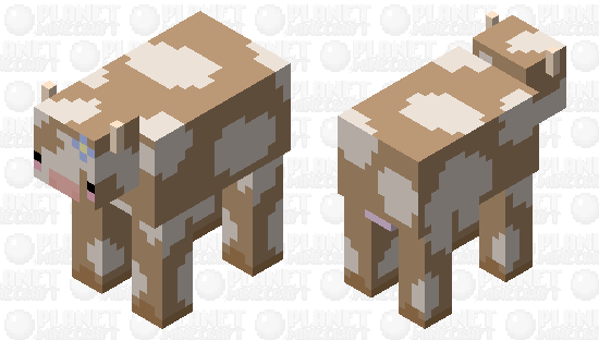Cute cow c; Minecraft Skin