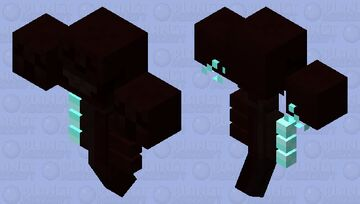 Reaper Wither (𝕱𝖔𝖗𝖇𝖎𝖉𝖉𝖊𝖓 𝕾𝖔𝖚𝖑𝖘) Minecraft Mob Skin