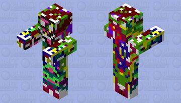 Z0mBiE3 Glitch5h5h5 Minecraft Mob Skin
