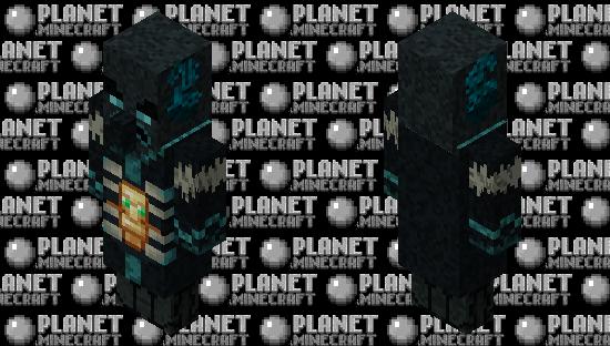 Sculkvoker (Sculk Evoker) Minecraft Skin