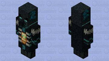Sculkvoker (Sculk Evoker) Minecraft Mob Skin