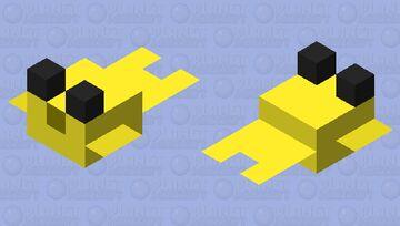 Yellow Puffer Fish Minecraft Mob Skin
