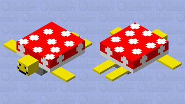 spiney (from Mario) Minecraft Mob Skin