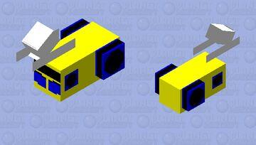 bumble bee car mode Minecraft Mob Skin