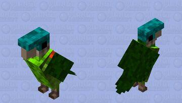 Brotogeris pyrrhoptera Minecraft Mob Skin