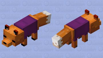 Kin da Fox [Cozy xp] Minecraft Mob Skin
