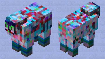 Glitchy Sheep Minecraft Mob Skin