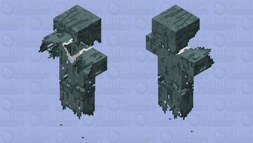 Refract Stray Outer Layer Minecraft Mob Skin