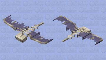 Skeletal Phantom ☠️ - Contest Entry Minecraft Mob Skin