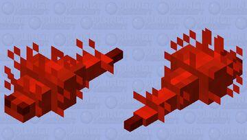 Redstone bug / remade / redstone palette + noisy mode Minecraft Mob Skin