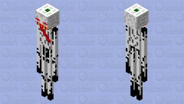 Spooky Enderman Minecraft Mob Skin