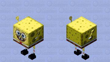 Spongebob Stridepants Minecraft Mob Skin
