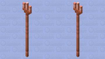 Copper Trident Minecraft Mob Skin