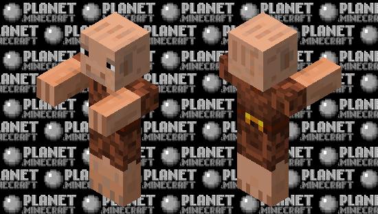 Older Piglin Minecraft Skin