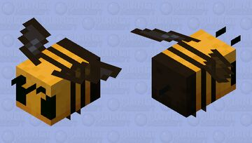 Asian killer Wasp Minecraft Mob Skin