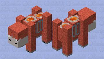 Camerupt Minecraft Mob Skin