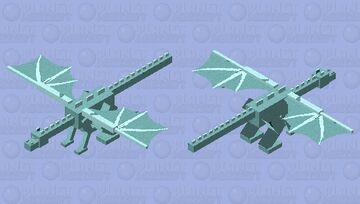 Ice-Dragon Minecraft Mob Skin