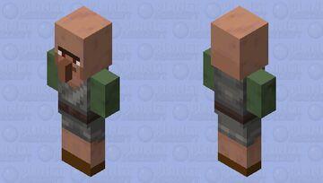 Aggressive villager axeman replaced vindicator Minecraft Mob Skin