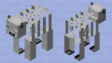 Skeleton cow Minecraft Mob Skin