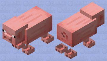 cartoony pig Minecraft Mob Skin
