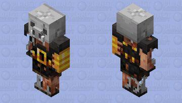 Eroded Piglin Brute Minecraft Mob Skin